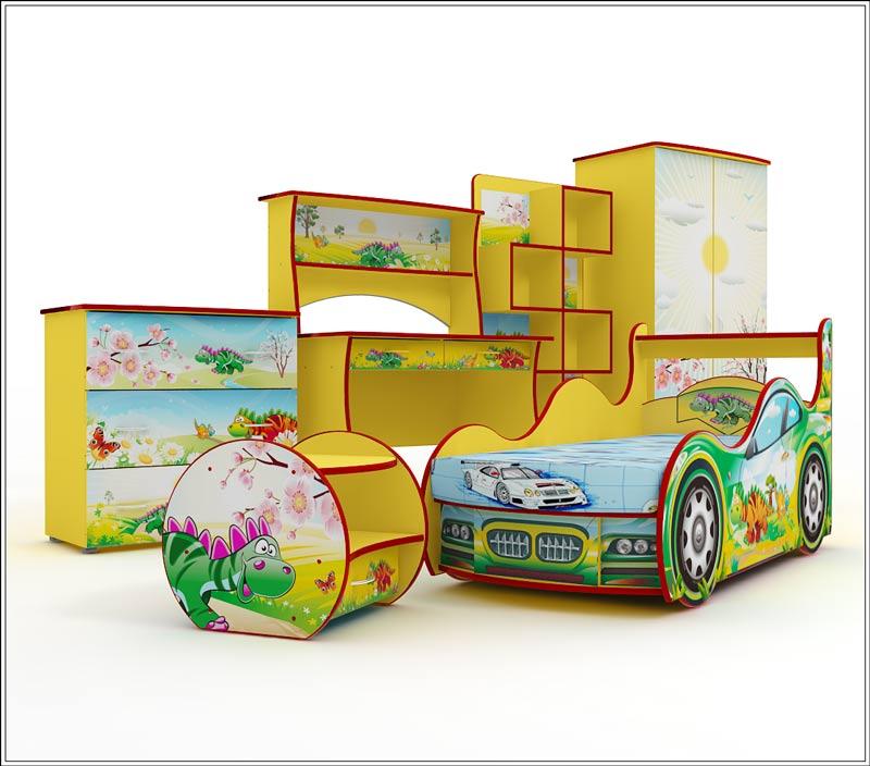 Сбор заказов. Вау! Орг сбор 5% на оригинальную детскую мебель! Кроватки-машинки, кареты, для гонщиков и принцесс, подарите ребенку счастье-)
