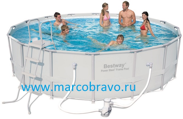 продаю Круглый каркасный бассейн Bestway 56266, размер 4,88х122 м.. 23тыс сейчас в магазинах гораздо дороже!!!