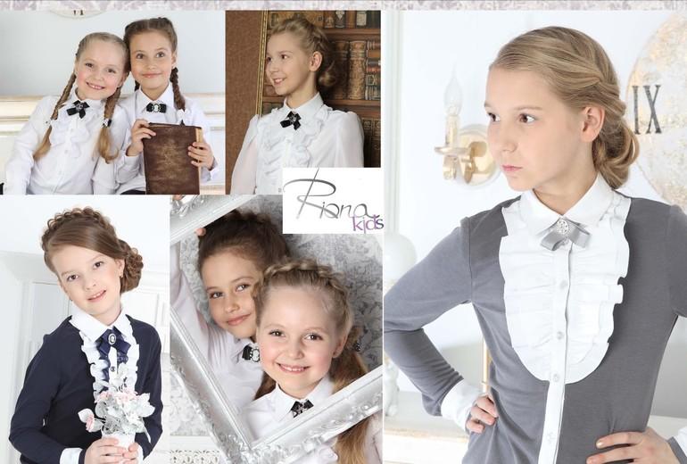 Сбор заказов. R.i.o.n.a.k.i.d.s - элегантные девочки. Школьные блузки и водолазки высшего качества, есть модели для девочек склонных к полноте. Новая спортивная коллекция! Плащи и ветровки. Без рядов!-3