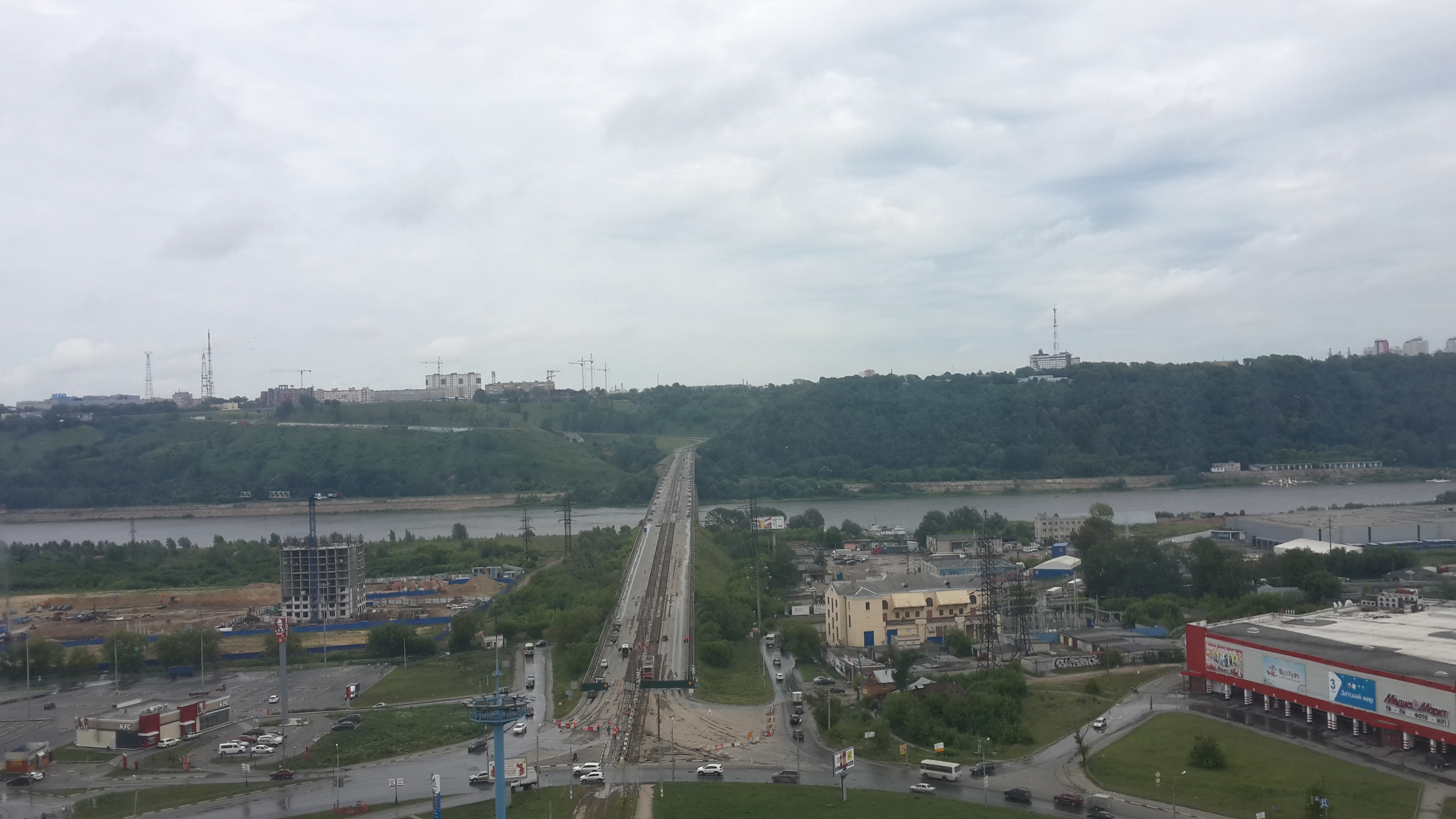Ремонт Молитовского моста (27.06.2016)