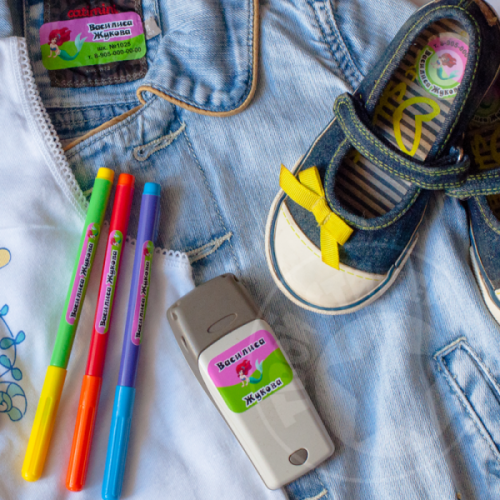 Сбор заказов. Готовимся к детскому саду и к школе заранее! Этикетки-стикеры для одежды, наклейки и кармашки на шкафчики, стикеры для обуви+ светоотражающие стикеры на одежду. Цены отличные! Сбор No2