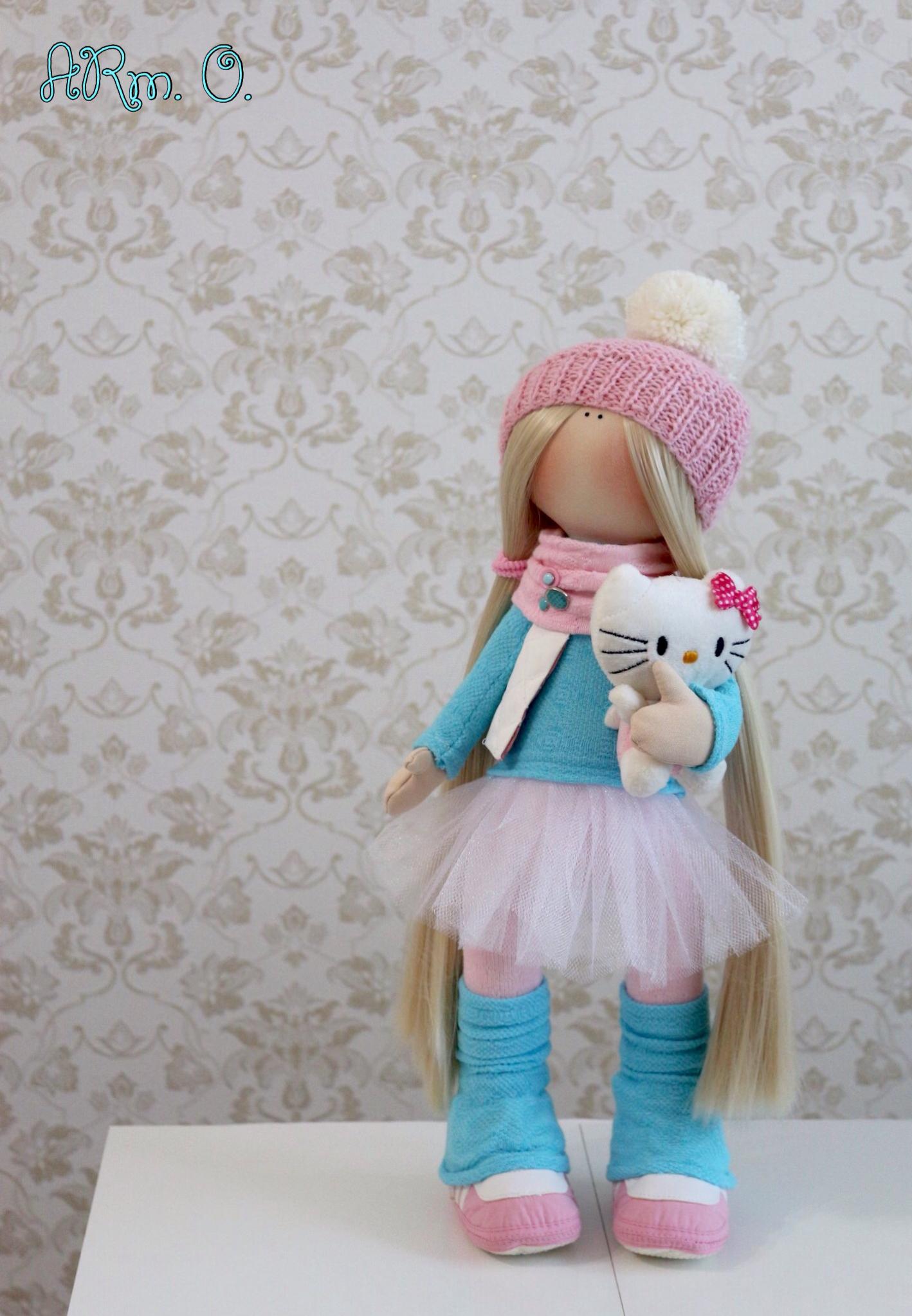 Розово-голубая нежность