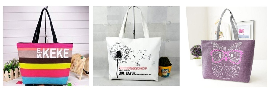 Сбор заказов. Летние сумки-4 из плотного льна. На прогулку, шопинг или пляж. Легкие и вместительные, яркие и винтажные, на молнии и с подкладкой