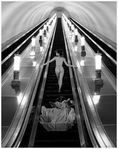 Московское метро. СССР, 1989 г.