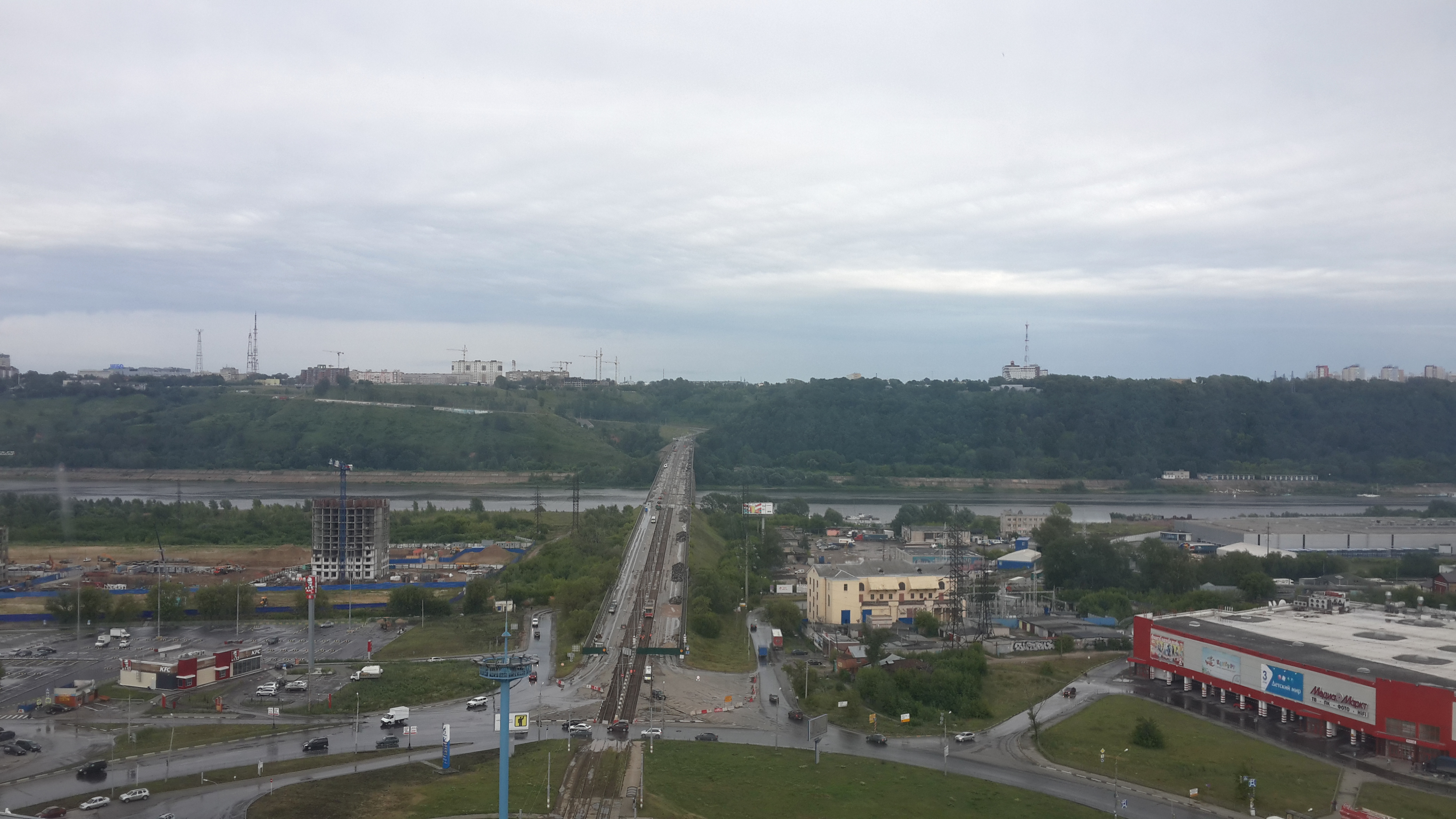 Ремонт Молитовского моста (08.07.2016)