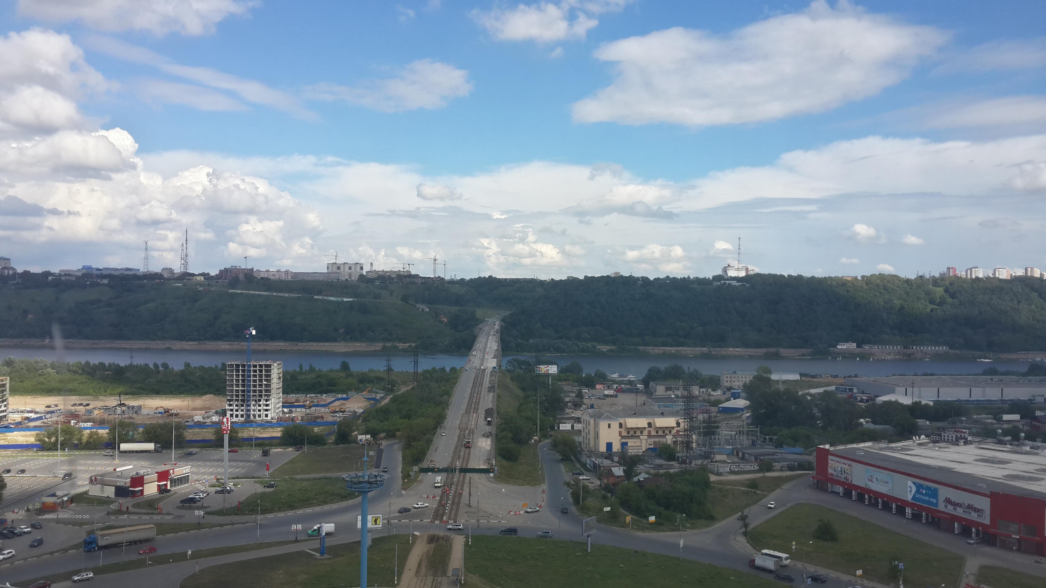 Ремонт Молитовского моста (11.07.2016)