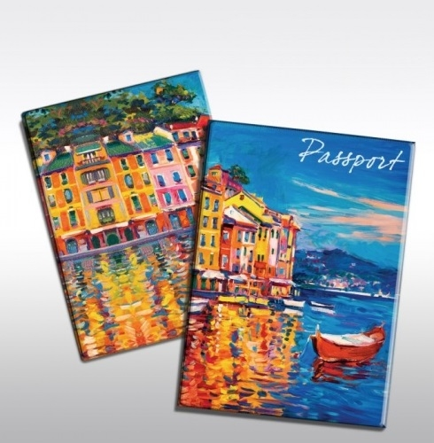 Обложки для паспортов, визитницы, ключницы, косметички, маски для сна. Стильно и красиво