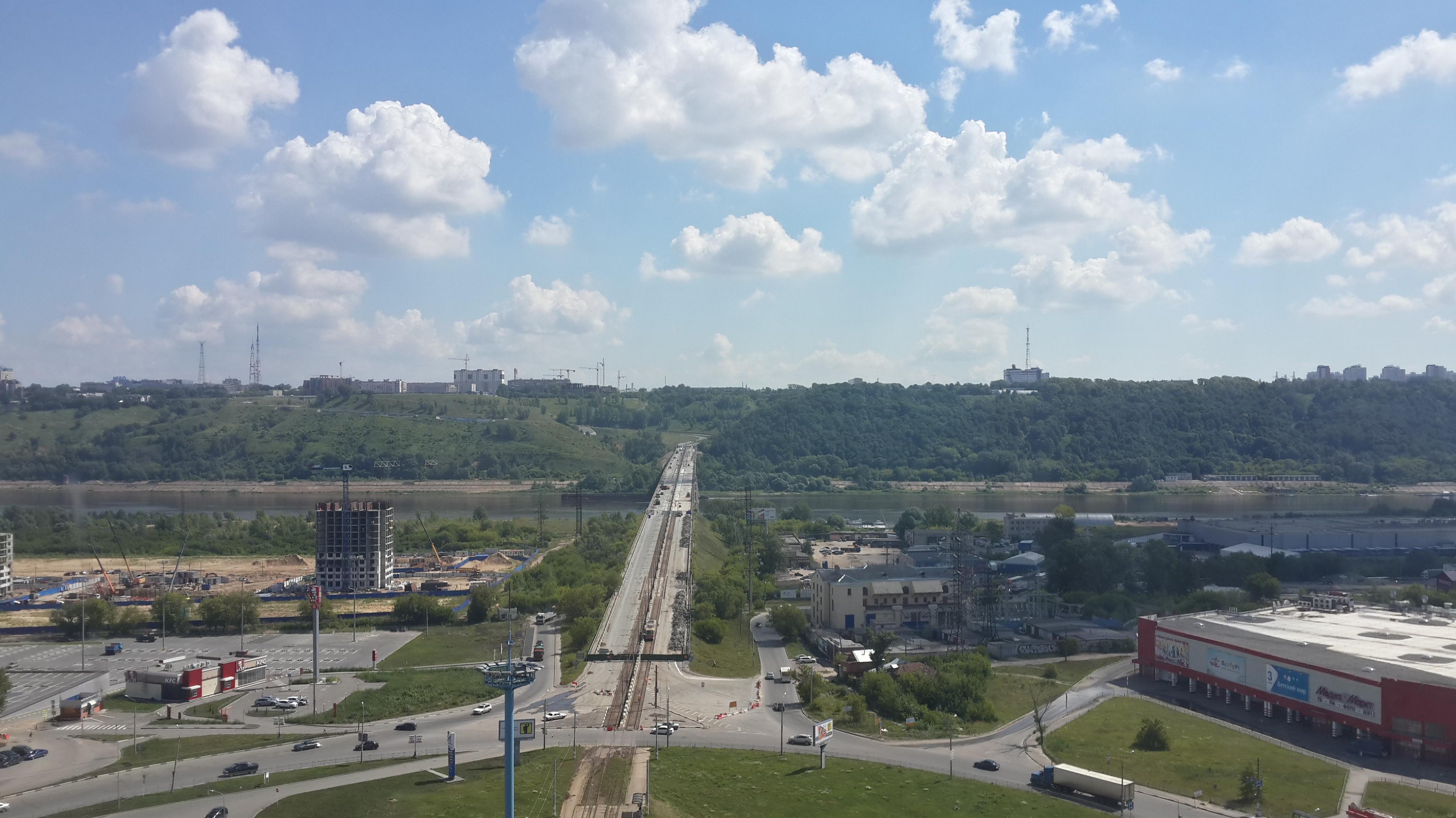 Ремонт Молитовского моста (15.07.2016)