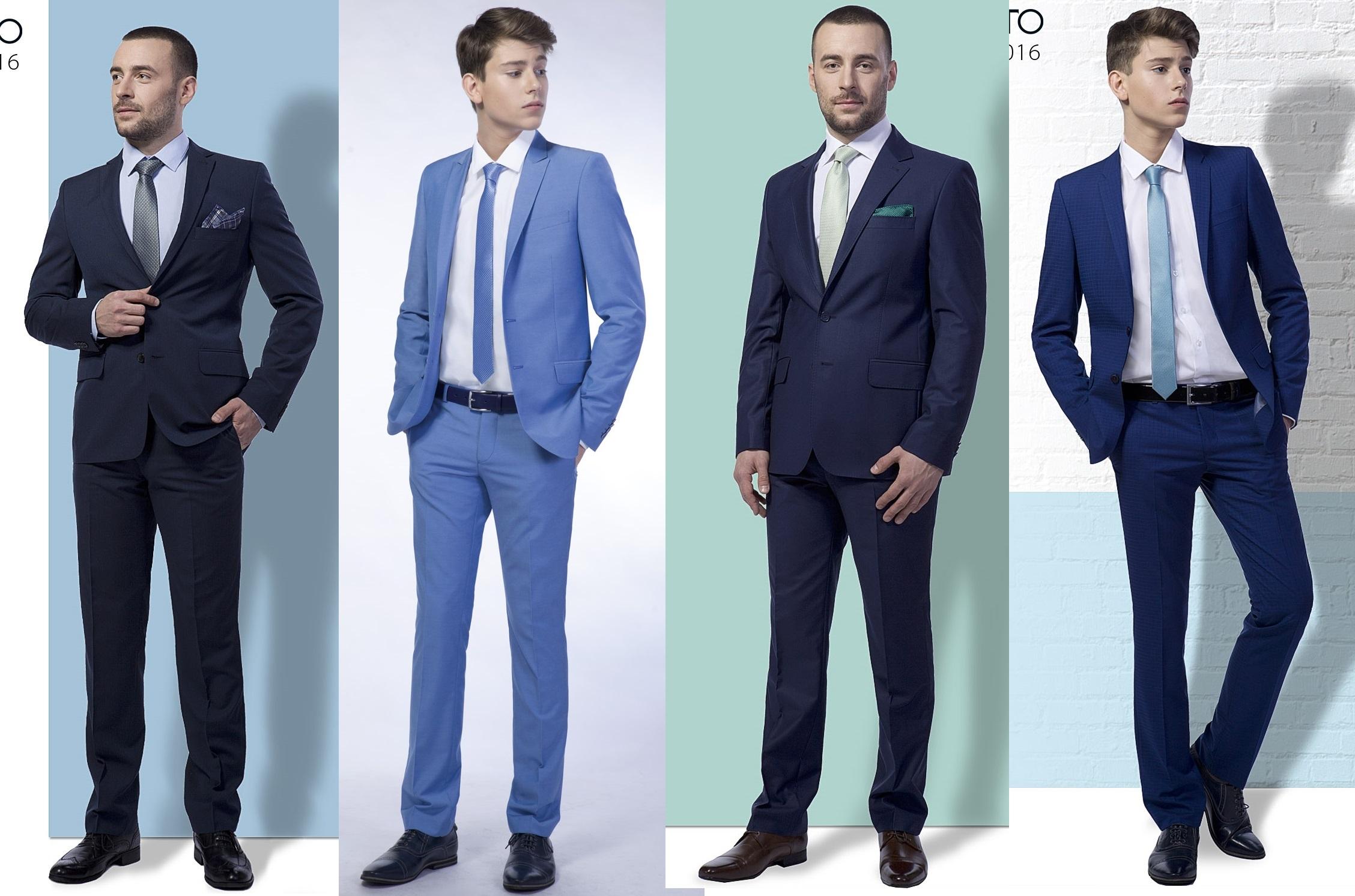 Одежда для настоящих мужчин - 29. Костюмы, пиджаки, брюки, сорочки, галстуки... От 44 до 76 размера.