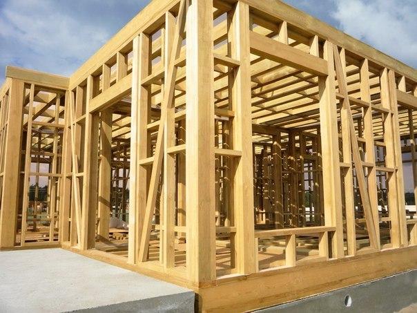 Строительство каркасных домов для ПМЖ