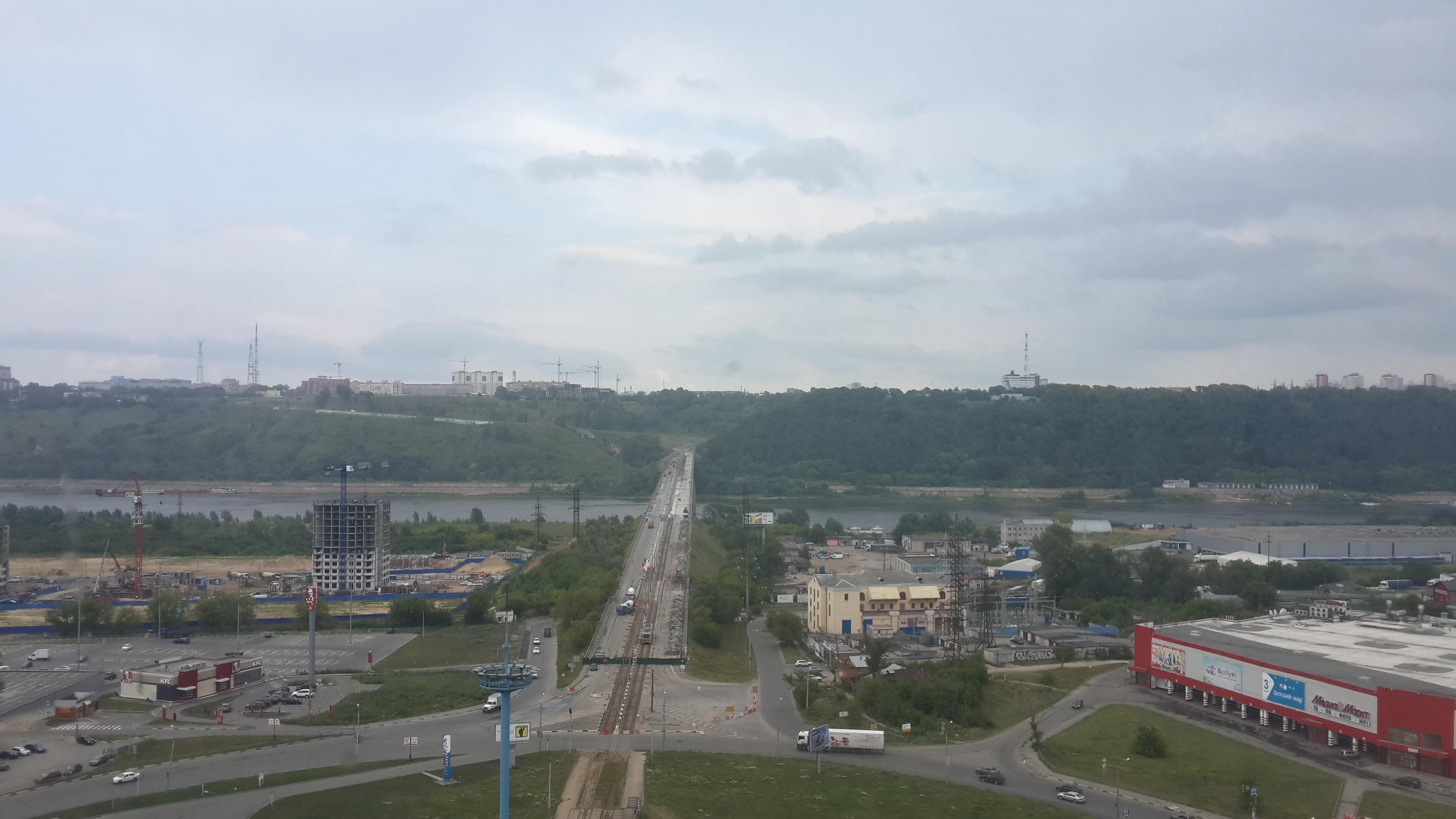 Ремонт Молитовского моста (21.07.2016)