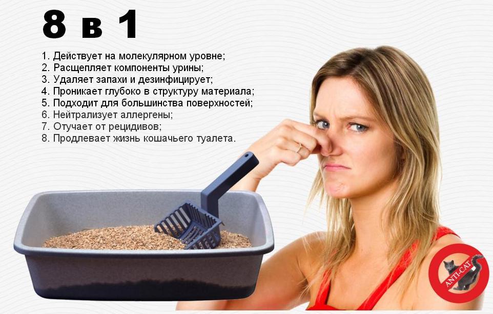 Сбор заказов. Спрей Анти - Кот от пятен и запаха домашних животных! Удаляет неприятные запахи и дезинфицирует! Выкуп 1