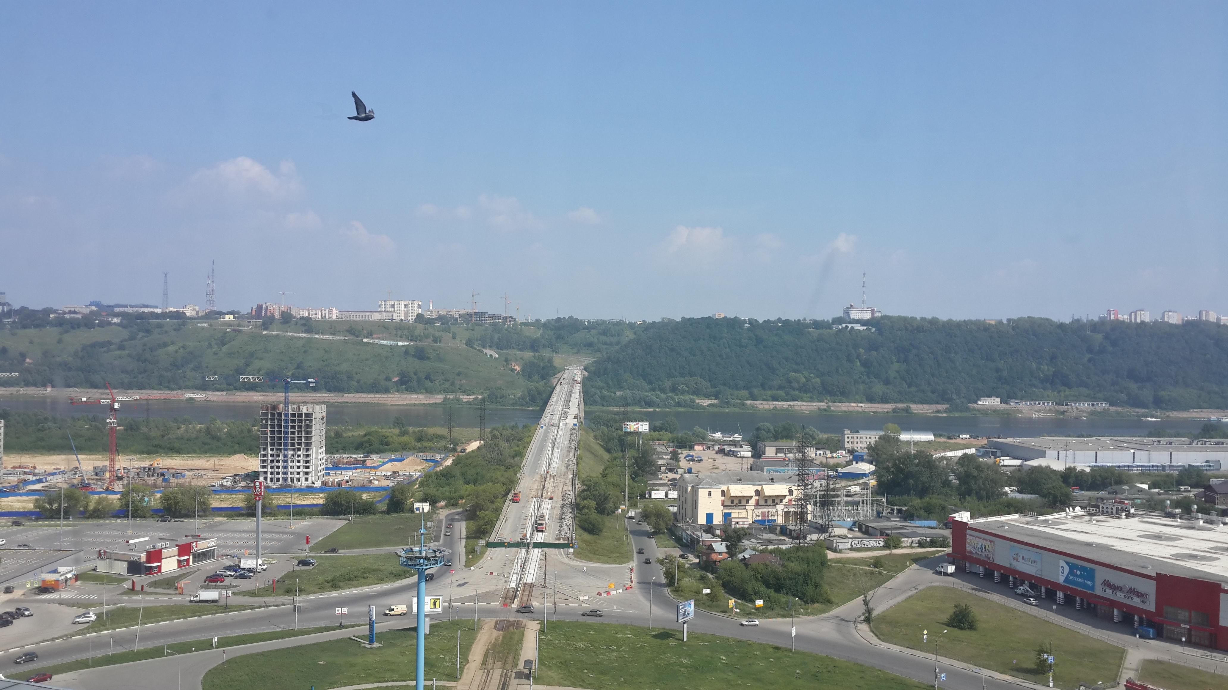 Ремонт Молитовского моста (26.07.2016)