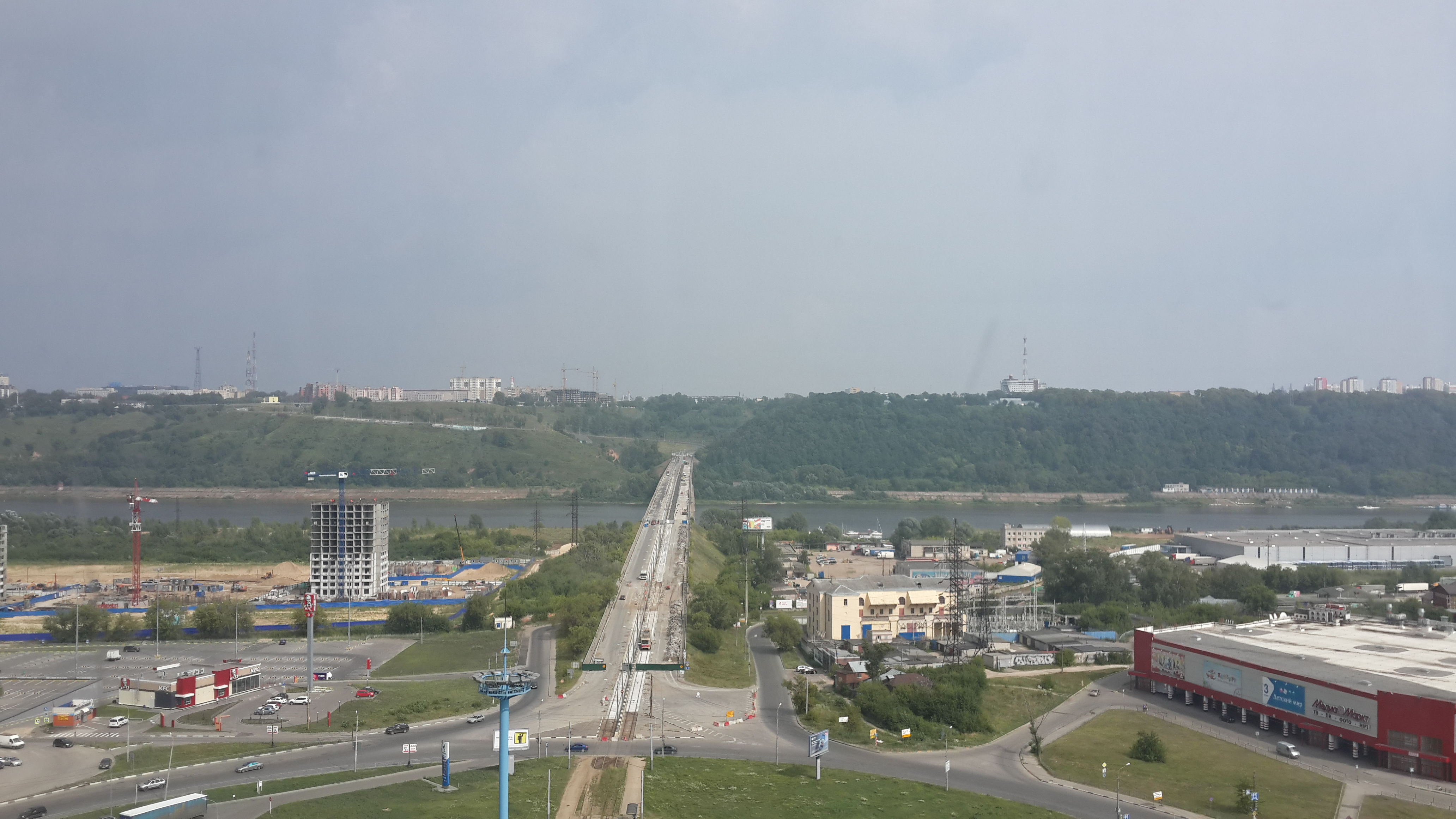 Ремонт Молитовского моста (27.07.2016)