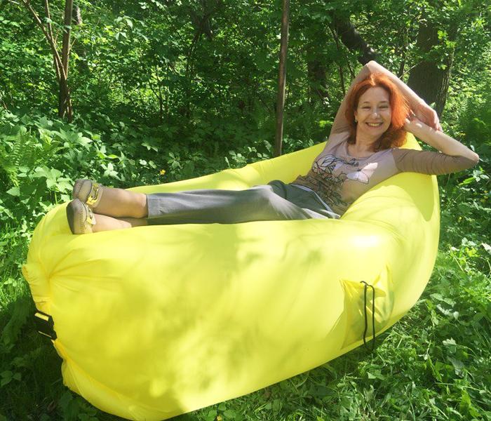 Идеальный надувной диван для современного темпа жизни. И на природе и дома)