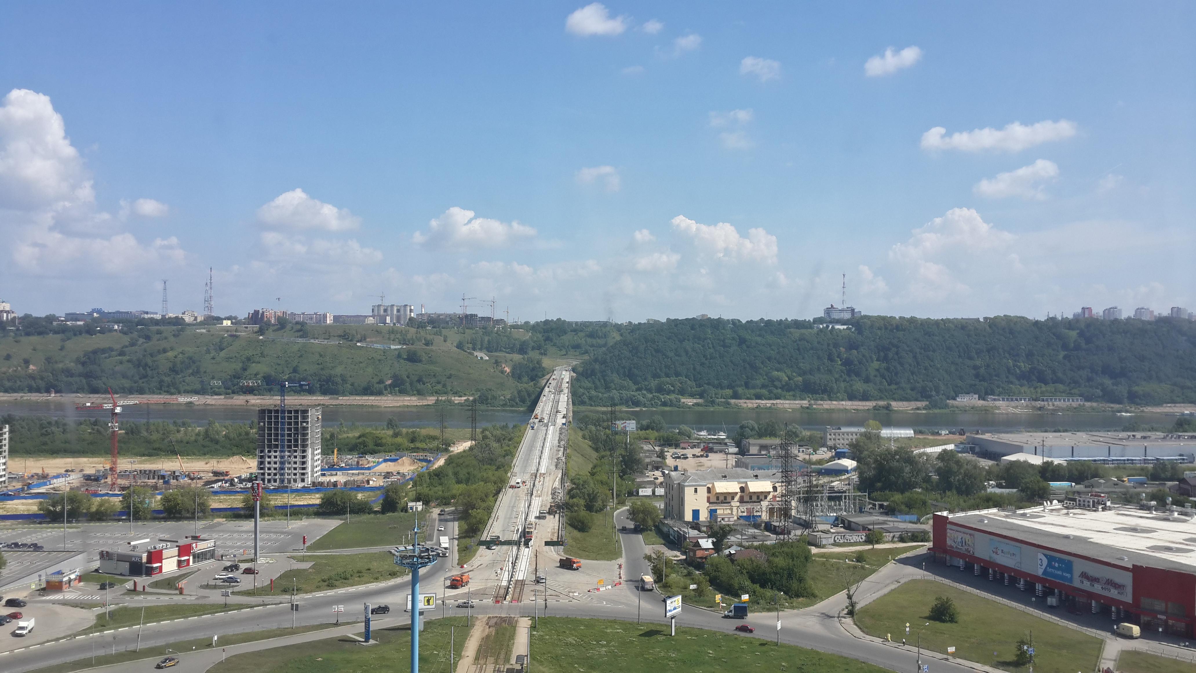 Ремонт Молитовского моста (29.07.2016)