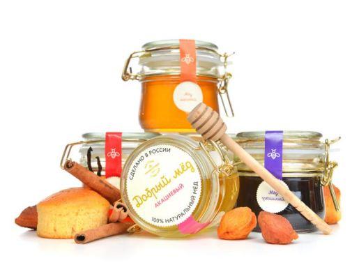 100% натуральный Добрый мёд! Мёд, крем-мёд, варенье
