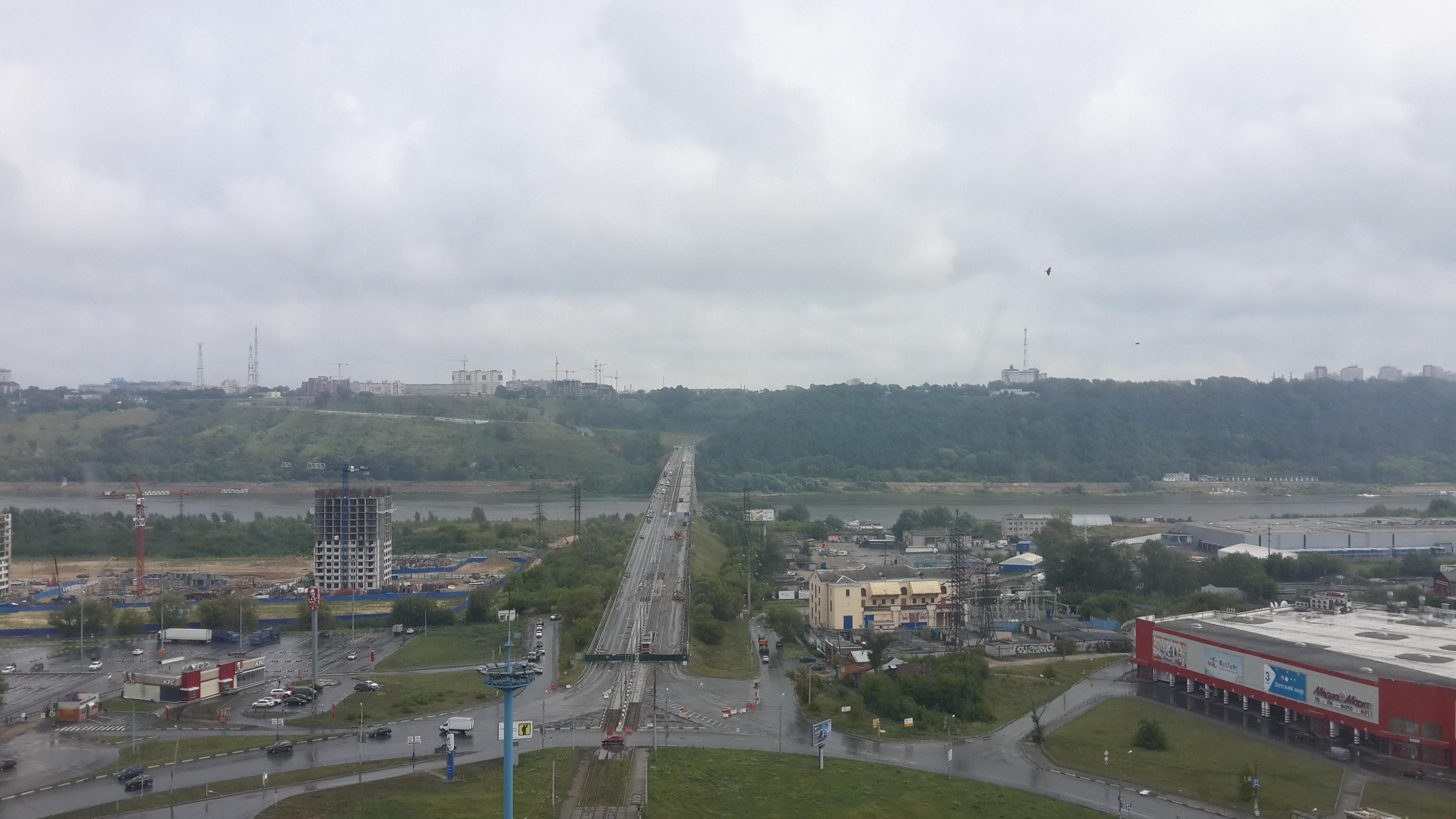Ремонт Молитовского моста (04.08.2016)