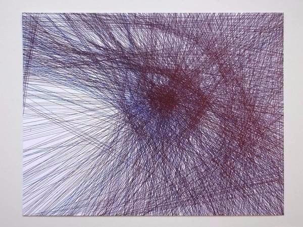 Каждая линия проведена через весь лист