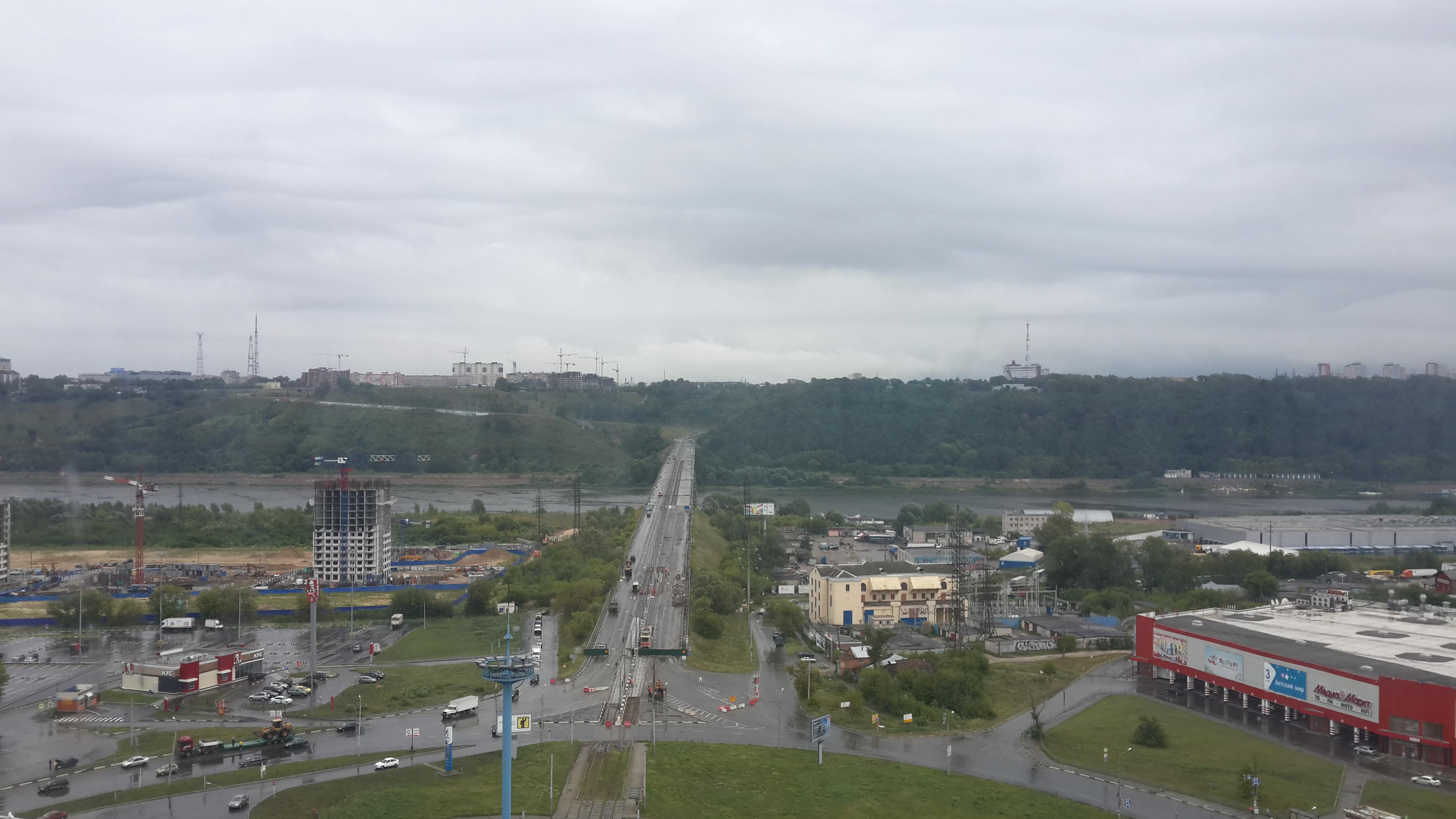Ремонт Молитовского моста (08.08.2016)