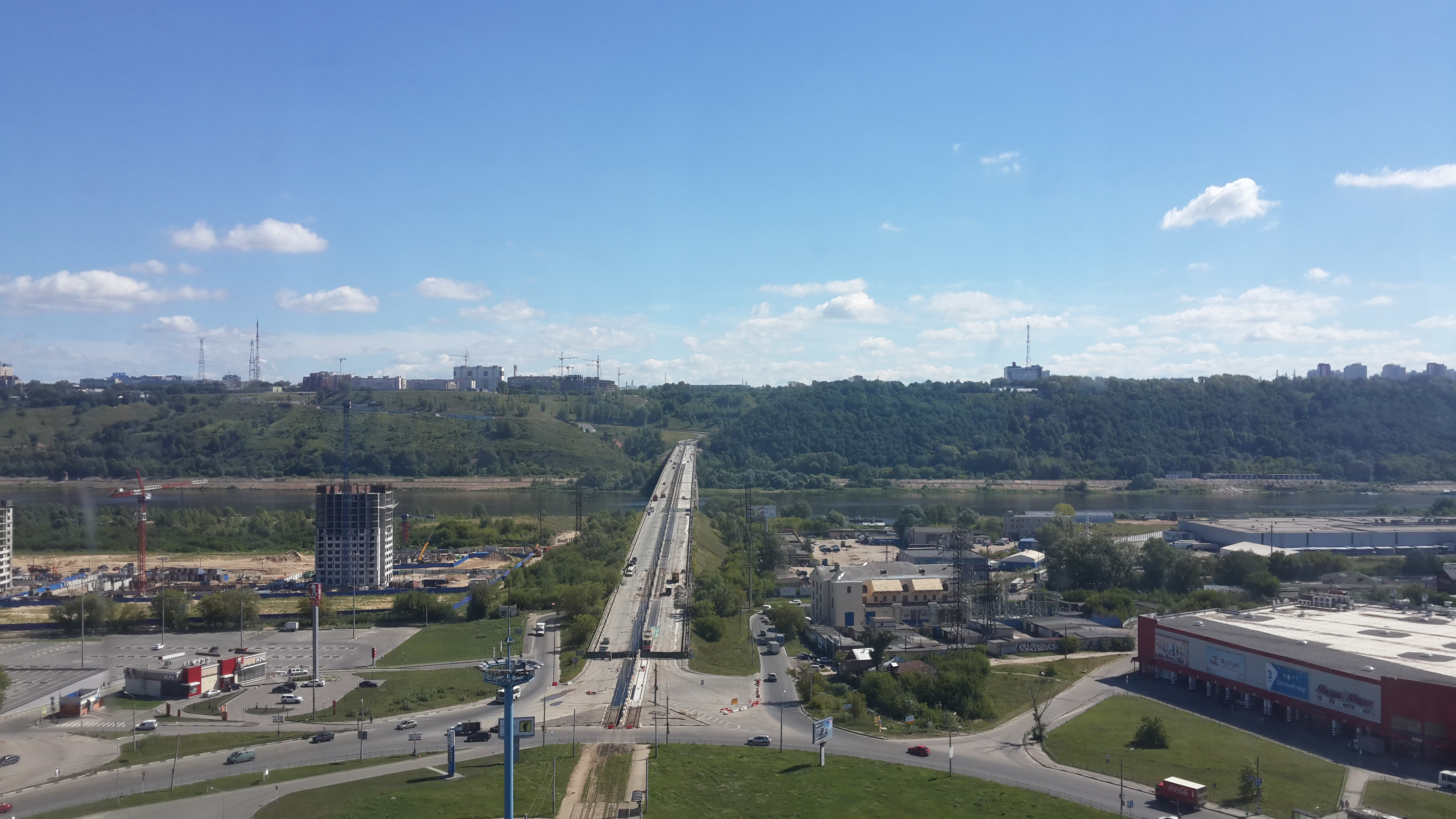 Ремонт Молитовского моста (10.09.2016)