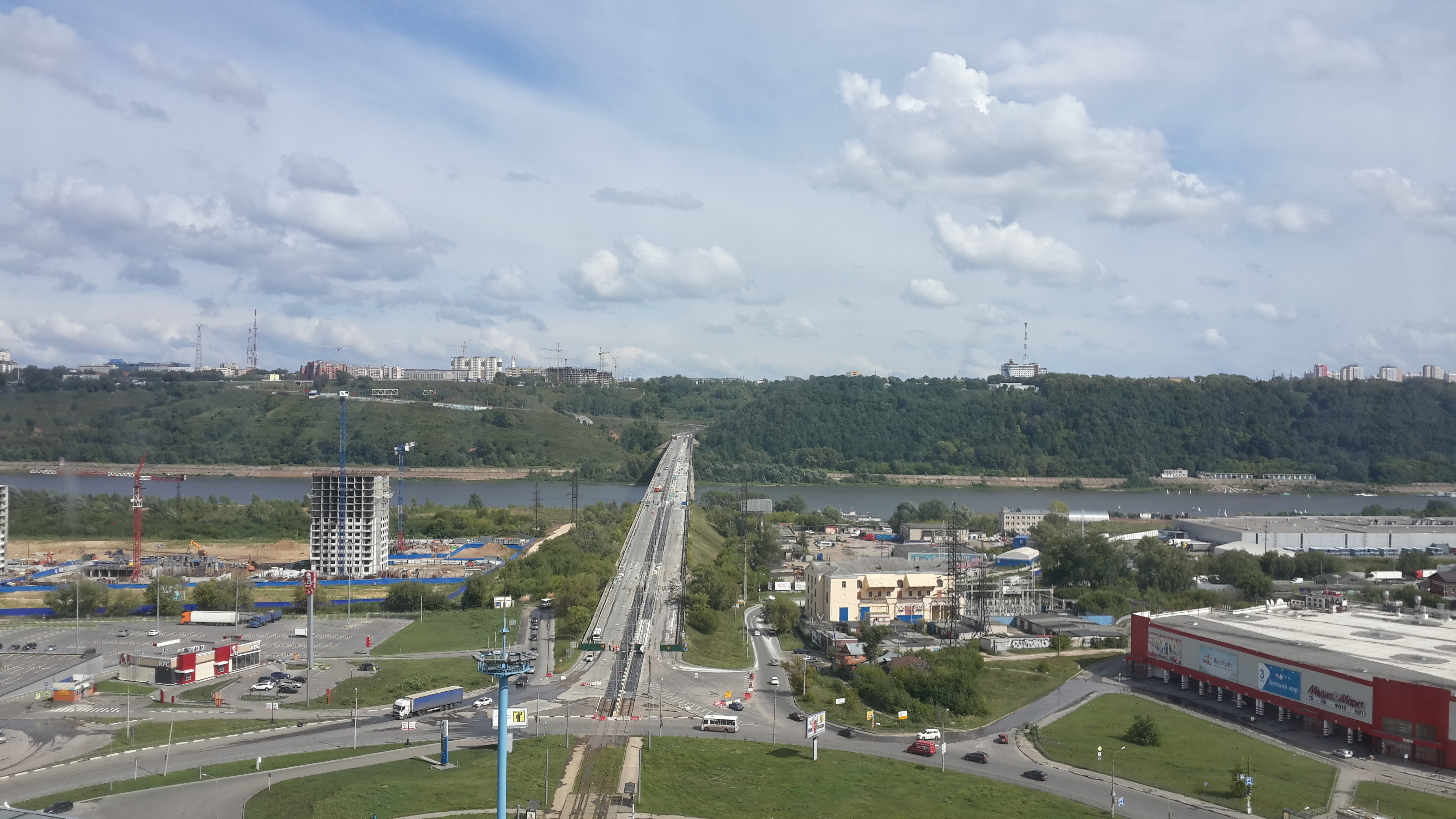 Ремонт Молитовского моста (15.08.2016)