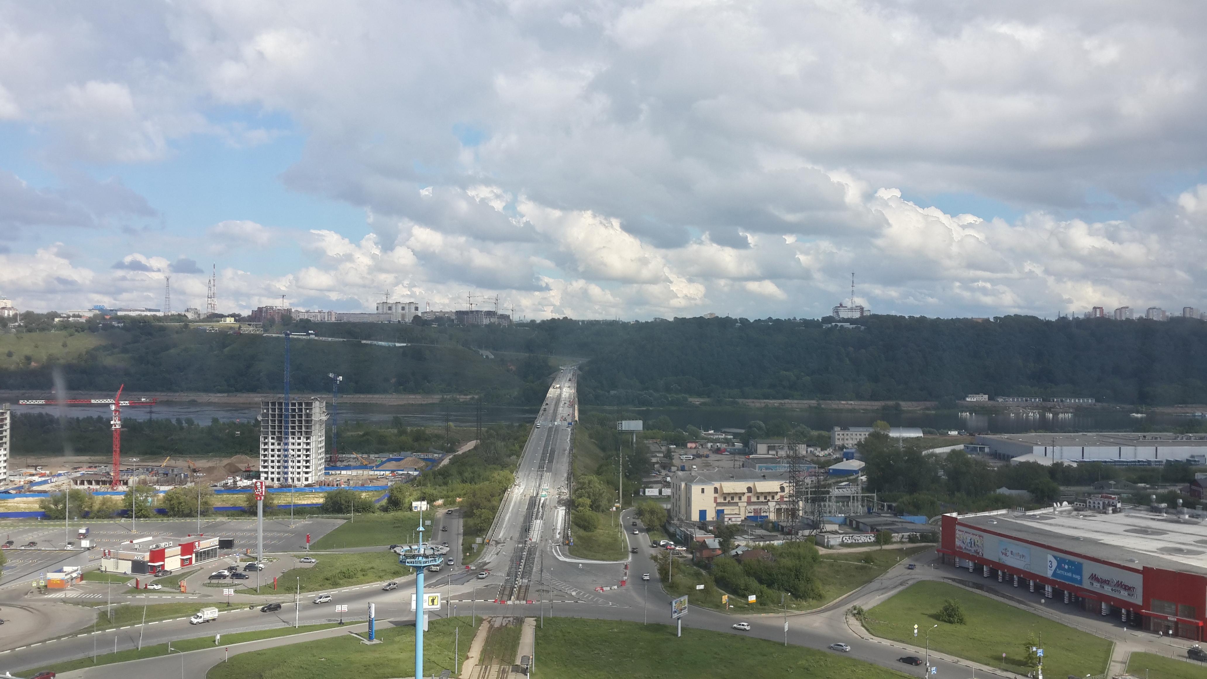 Ремонт Молитовского моста (16.08.2016)