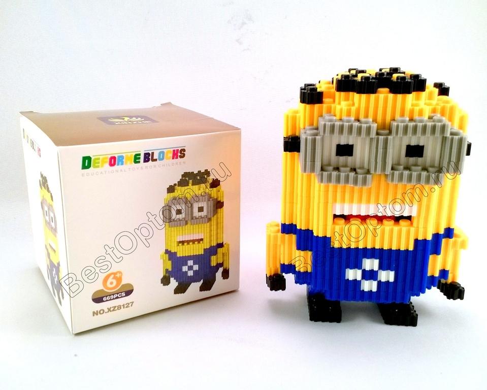 Рекомендую НОВИНКИ конструкторов для детишек постарше! Мини конструкторы 3D Deforme Blocks и Micro Block (наноблок
