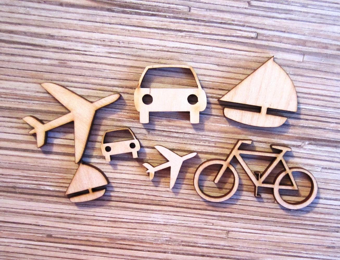 SmileDecor - развивающие игрушки и товары из дерева, заготовки для творчества, лазерная резка и гравировка по дереву