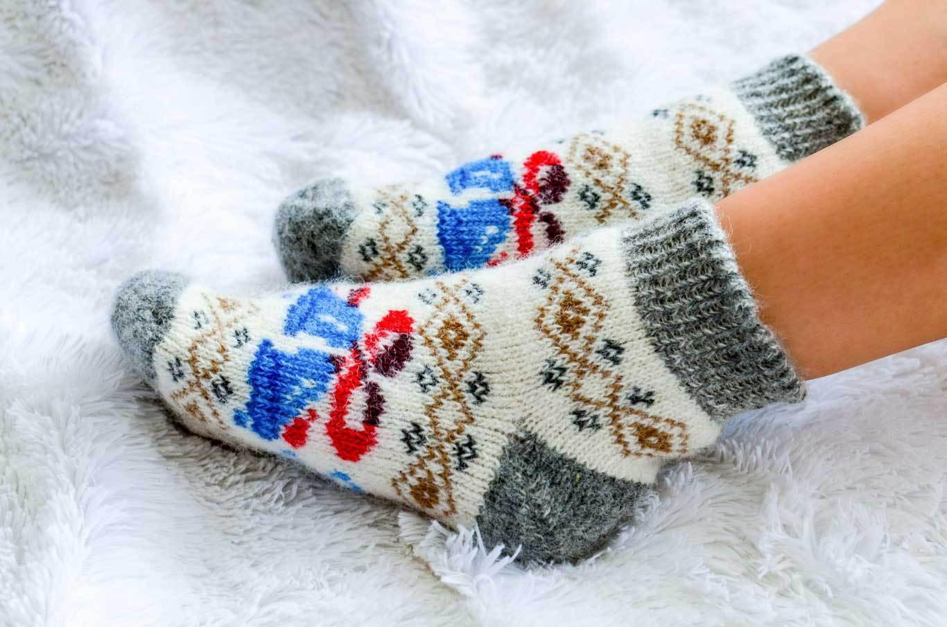 Сбор заказов.Мужские шерстяные носки Женские шерстяные носки. Гольфы - 3.