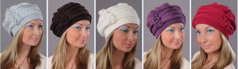 Модные женские головные уборы.Новинка - натуральный мех!