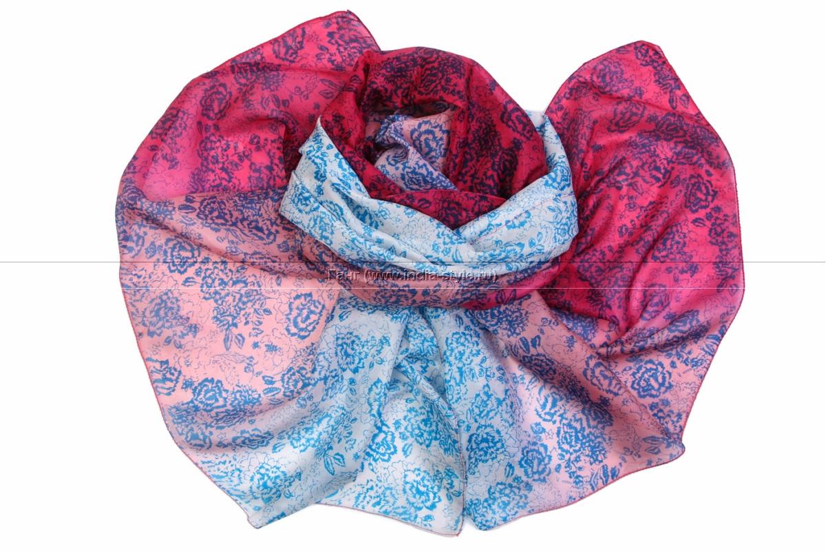 Пиар! Палантины, платки, шарфы. Натуральный шелк, хлопок, шерсть. Из Индии Космически огромный выбор!!!