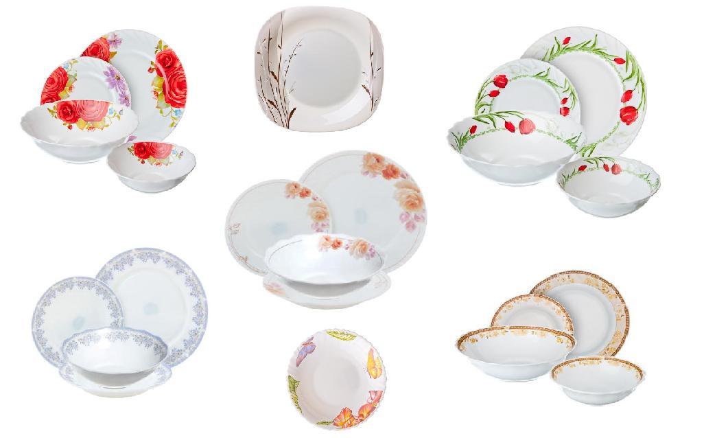 Распродажа! Опаловое стекло твердая цена! Тарелки, салатники, наборы посуды! Отличные тарелки от 37рублей