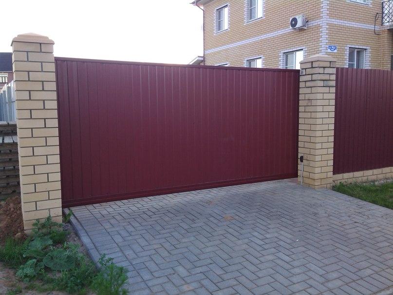 #Откатные ворота по ключ с Автоматическим приводом и установкой за 55000 рублей !!! Реально.