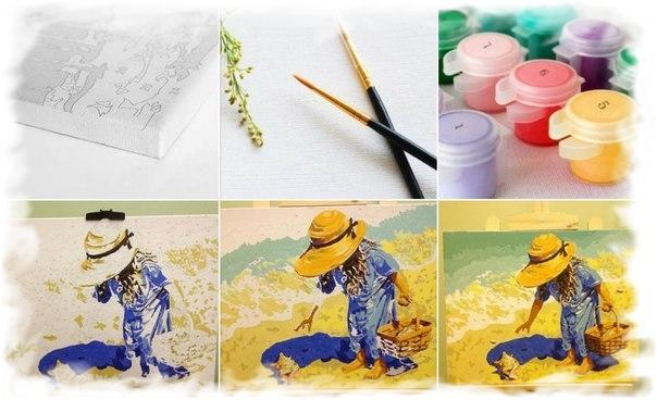 Сбор заказов. Почувствуй себя художником. Картины по номерам - отличное хобби для детей и взрослых! Супер цена - 400 руб!