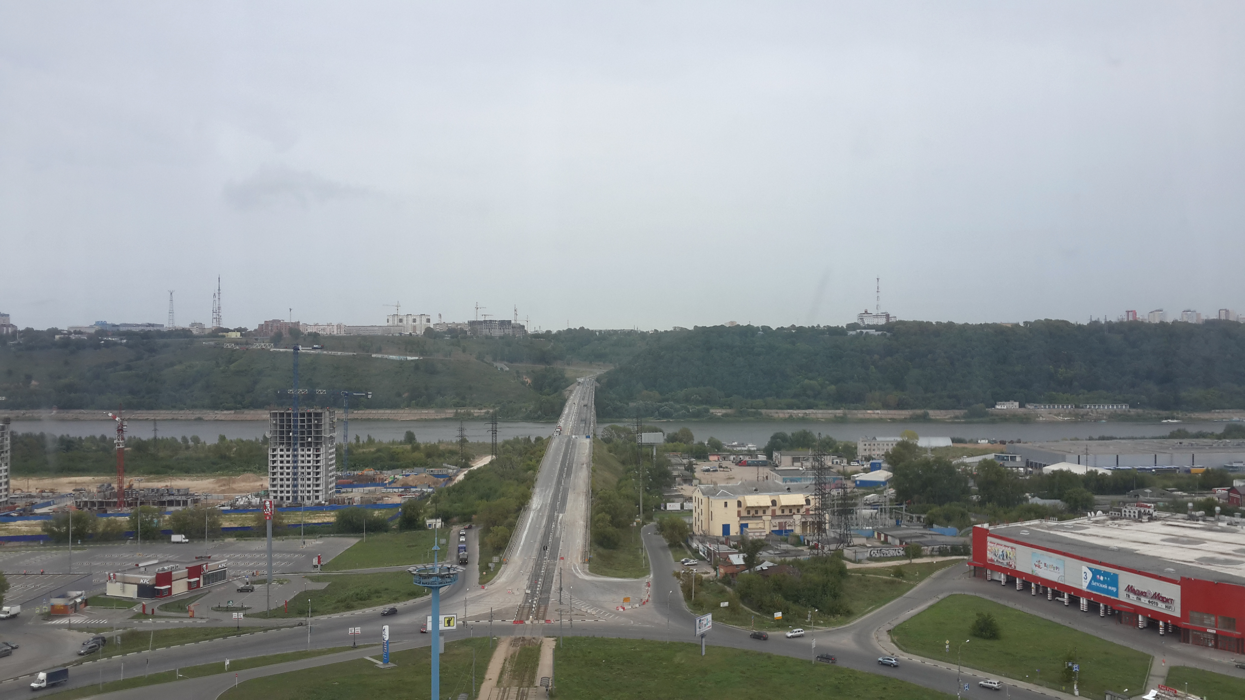 Ремонт Молитовского моста (25.08.2016)