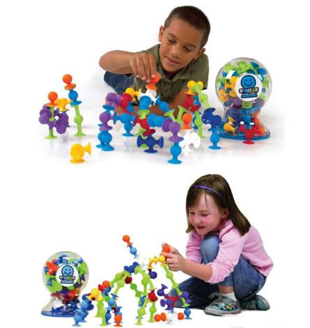 Сбор заказов. Сумасшедший конструктор-присоска Squigz. Самая ожидаемая игрушка 2016 года. В него играют взрослые и дети