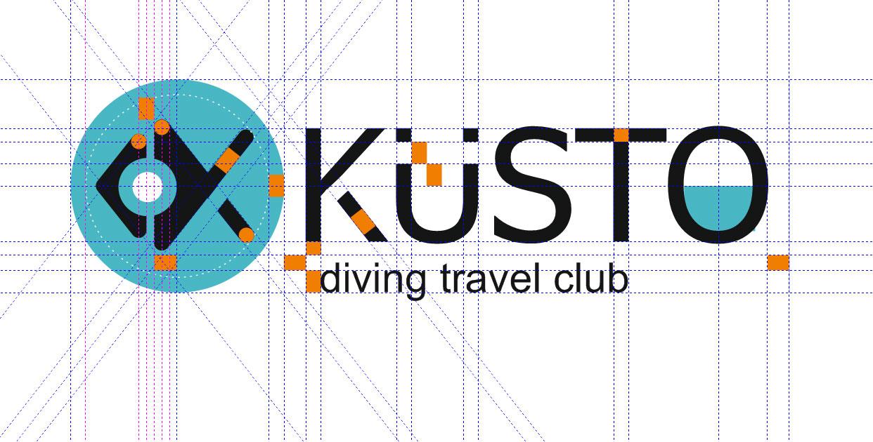 Разработка фирменного стиля дайвинг-клуба KUSTO