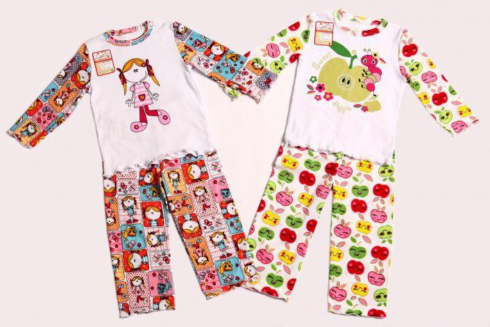 Разбираем! Пижама Маруся р.104 Цена 402 руб (цена окончательная) Расцветка с яблочками