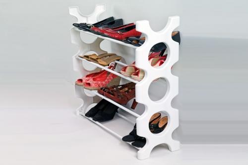 Сбор заказов. Полка для обуви. Недорогая и компактная полка. Устойчивая. Собирается легко, без использования дополнительного инструмента. Цвета на выбор.
