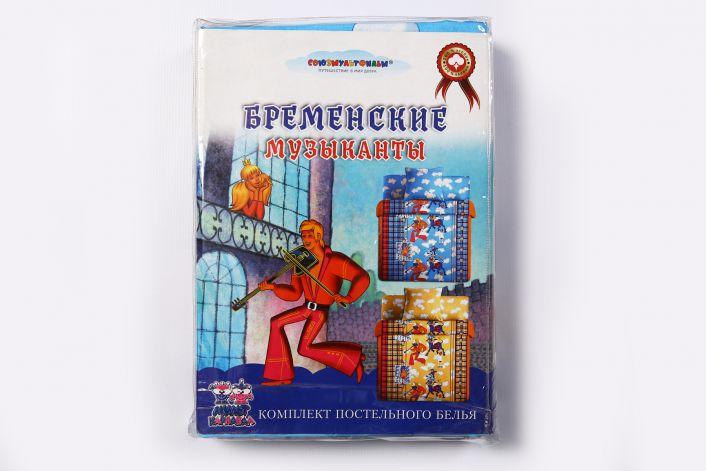 Постельное белье детское Бременские музыканты 720 р.
