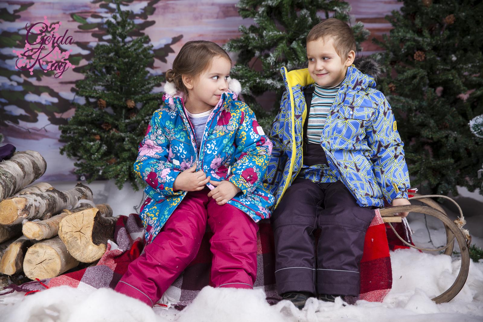 Утепляемся!!! Коллекции детских костюмов GerdaKay.