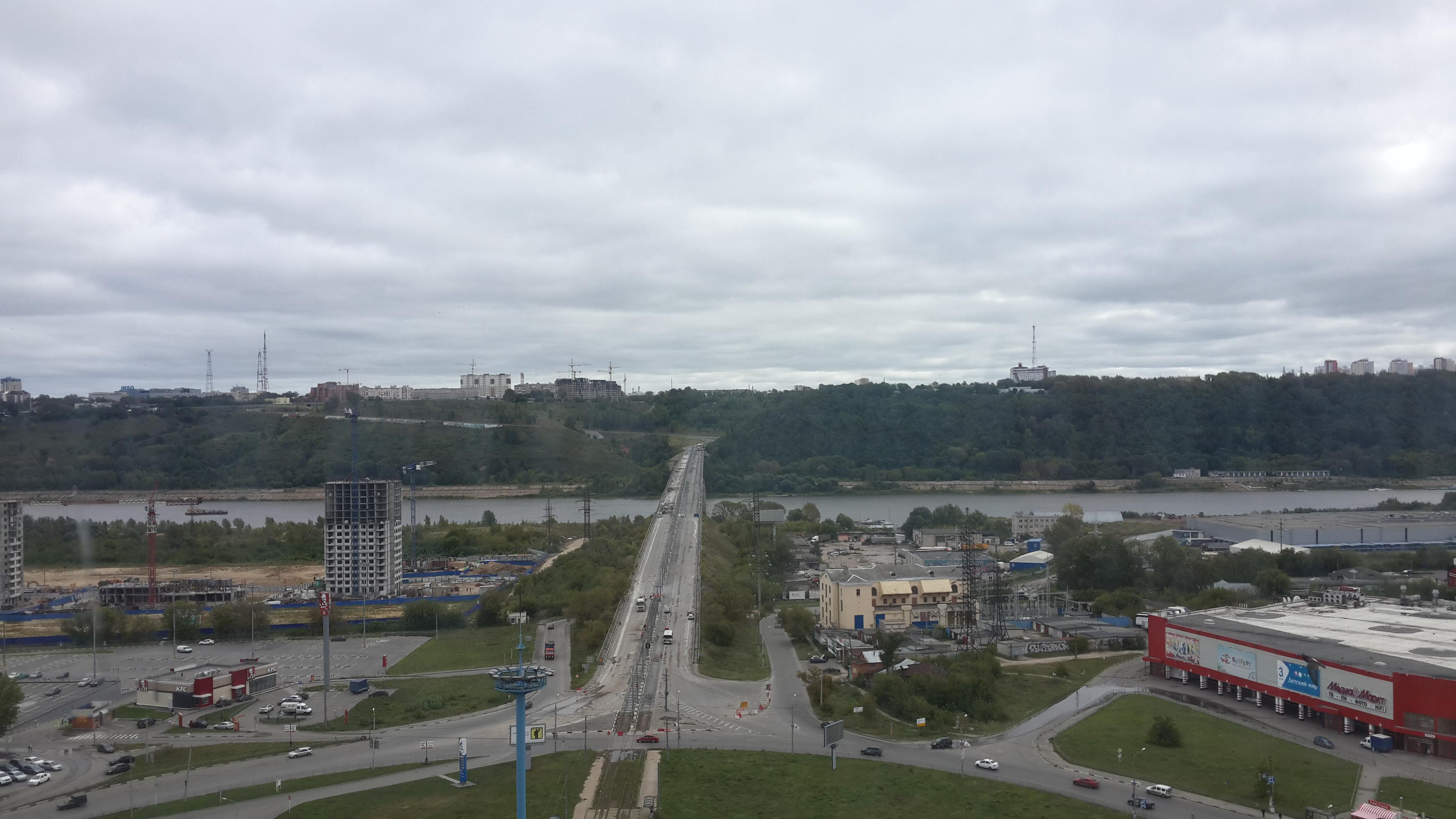 Ремонт Молитовского моста (02.09.2016)