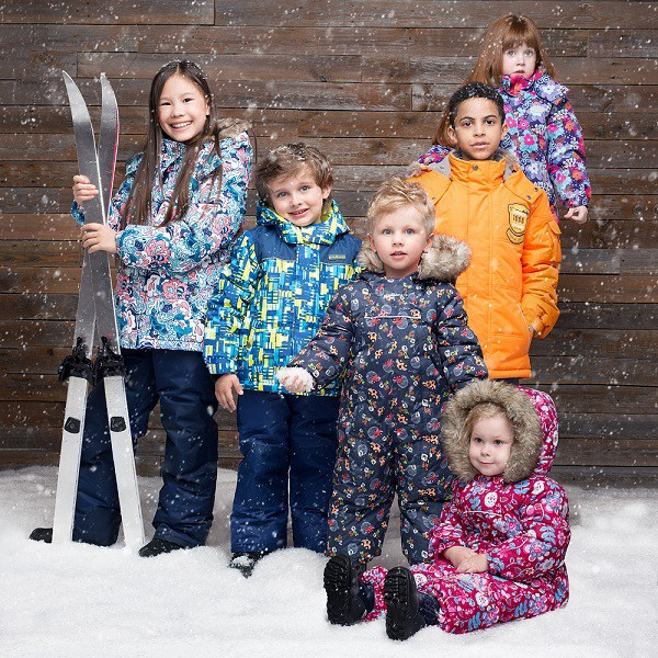 Качественная детская верхняя мембранная одежда Premont