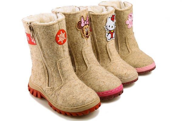 Русские валенки. Лучшая детская зимняя обувь
