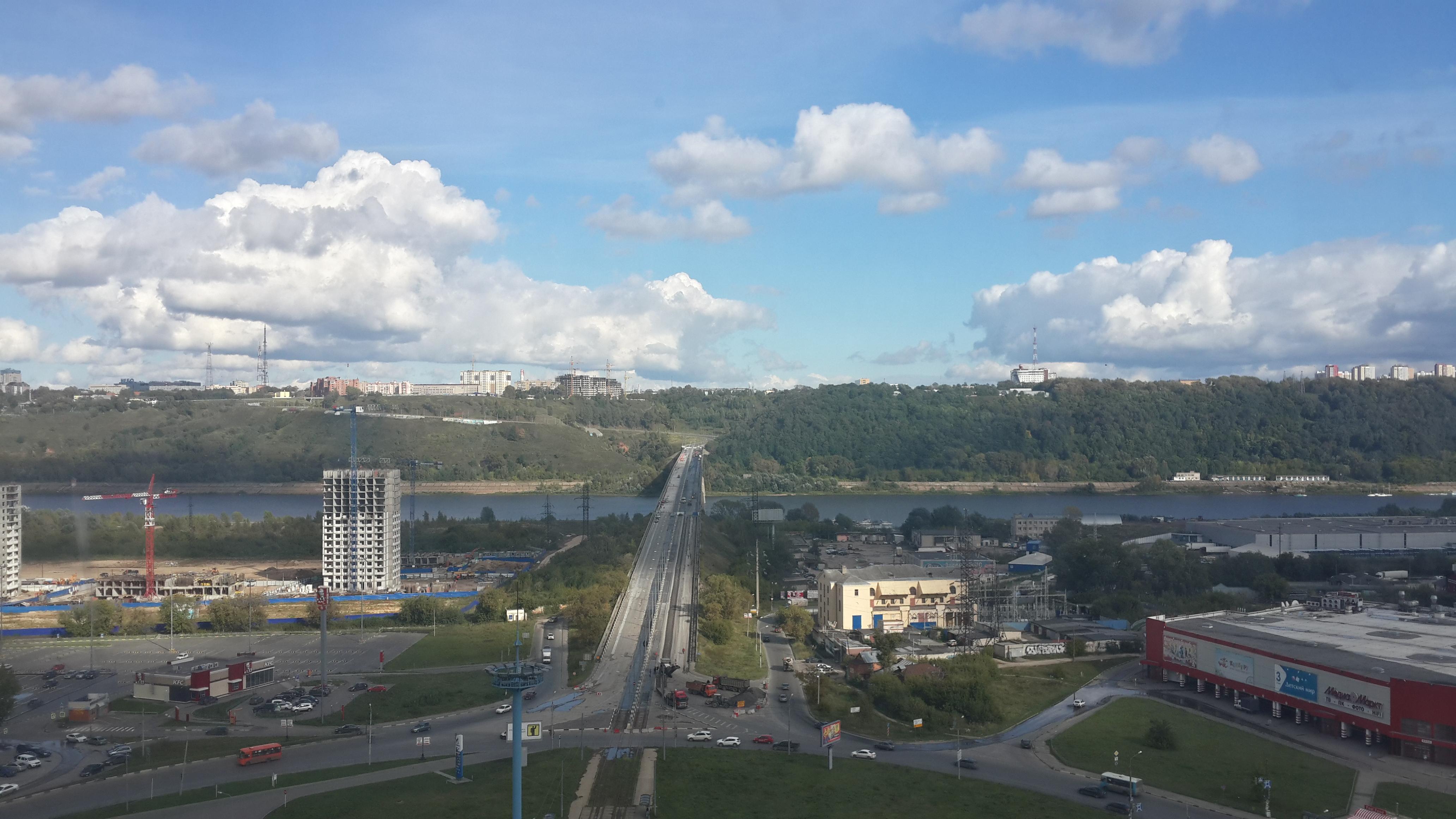 Ремонт Молитовского моста (06.09.2016)