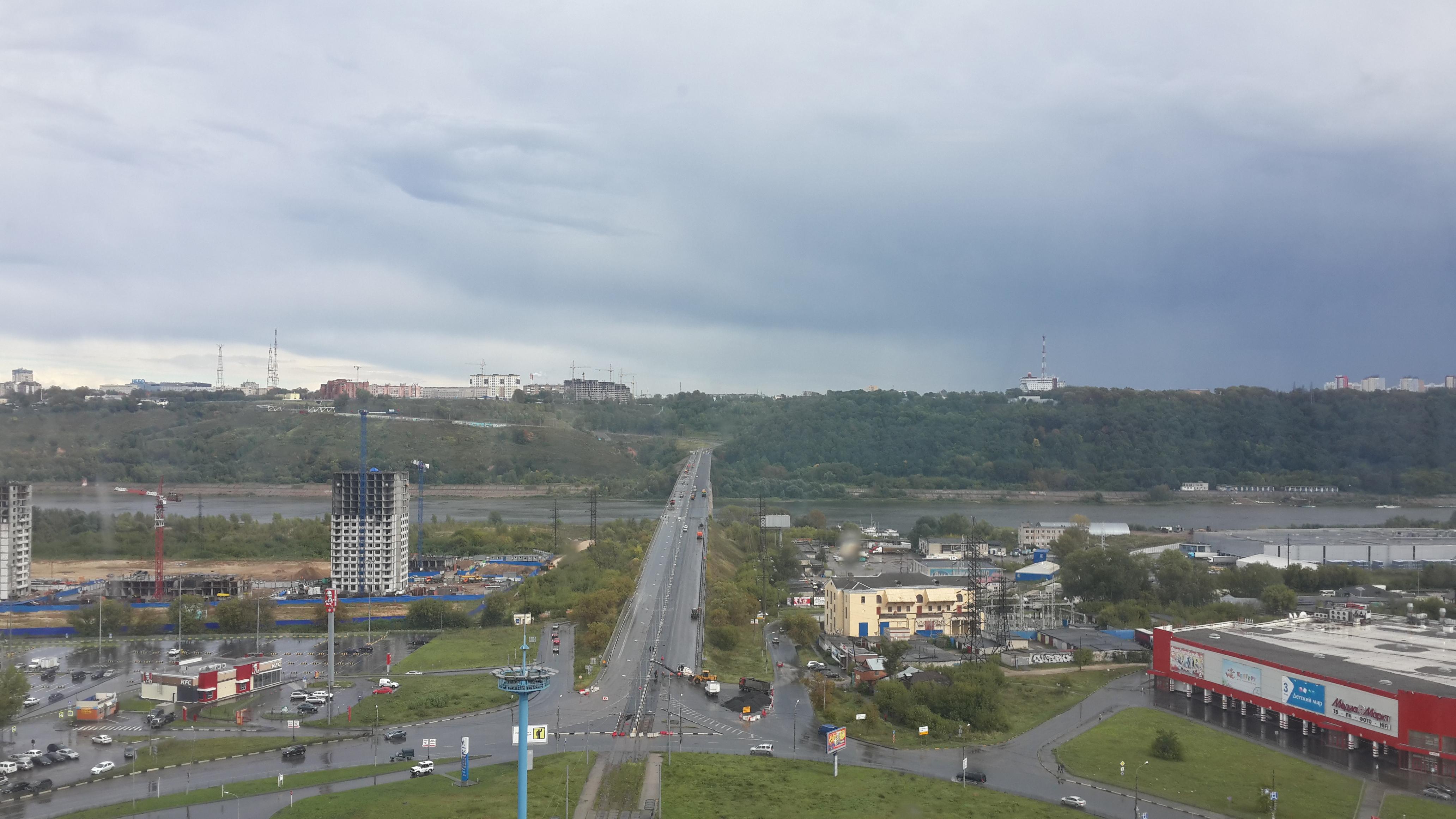 Ремонт Молитовского моста (08.09.2016)