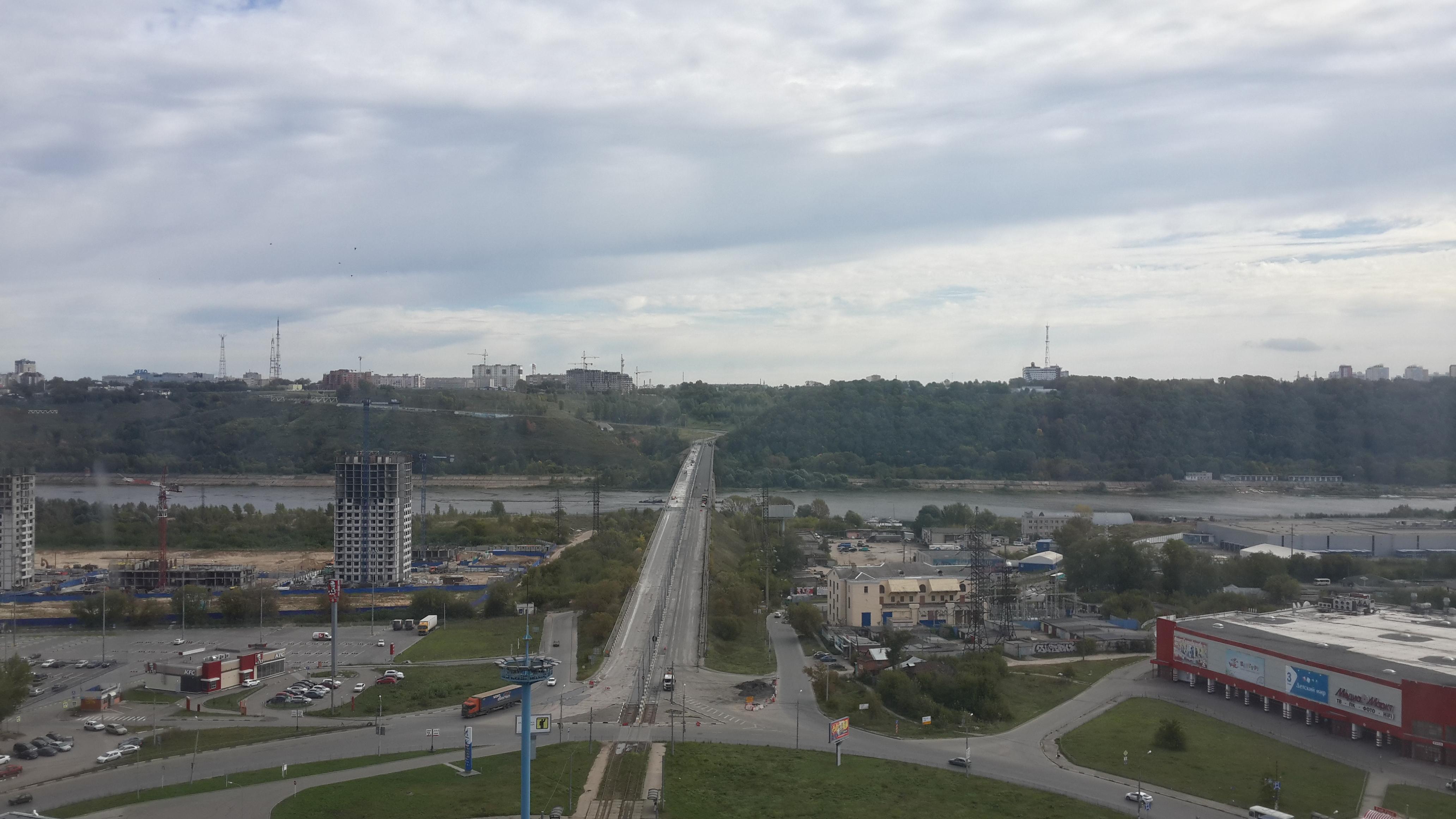 Ремонт Молитовского моста (12.09.2016)