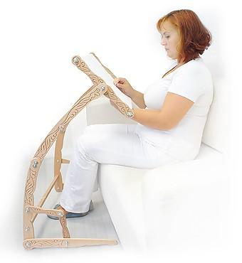 Сбор заказов Подарки рукодельницам. Станки (настольные, диванные, напольные) для вышивания крестиком и бисером, рамки-пяльцы для вышивания из натурального дерева (бука). Органайзеры для мулине и бисера, натяжки для канвы - 9