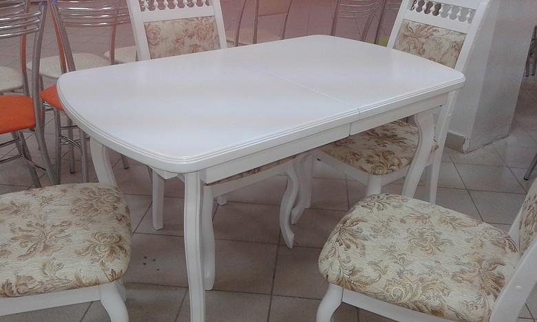 Сбор заказов. Столы со стеклом, столы с фотопечатью, столы с постформингом и пластиком, столы для кухни, столы на цельнометаллическом каркасе, раздвижные столы, раскладные столы и столы-книжки, столы с хромированными и деревянными опорами. -5